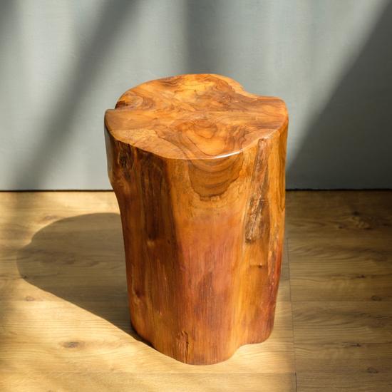 Teak Holz Hocker 40 Cm Lasiert Gunstig Kaufen In 2020 Teak Holz Teak Teakholz