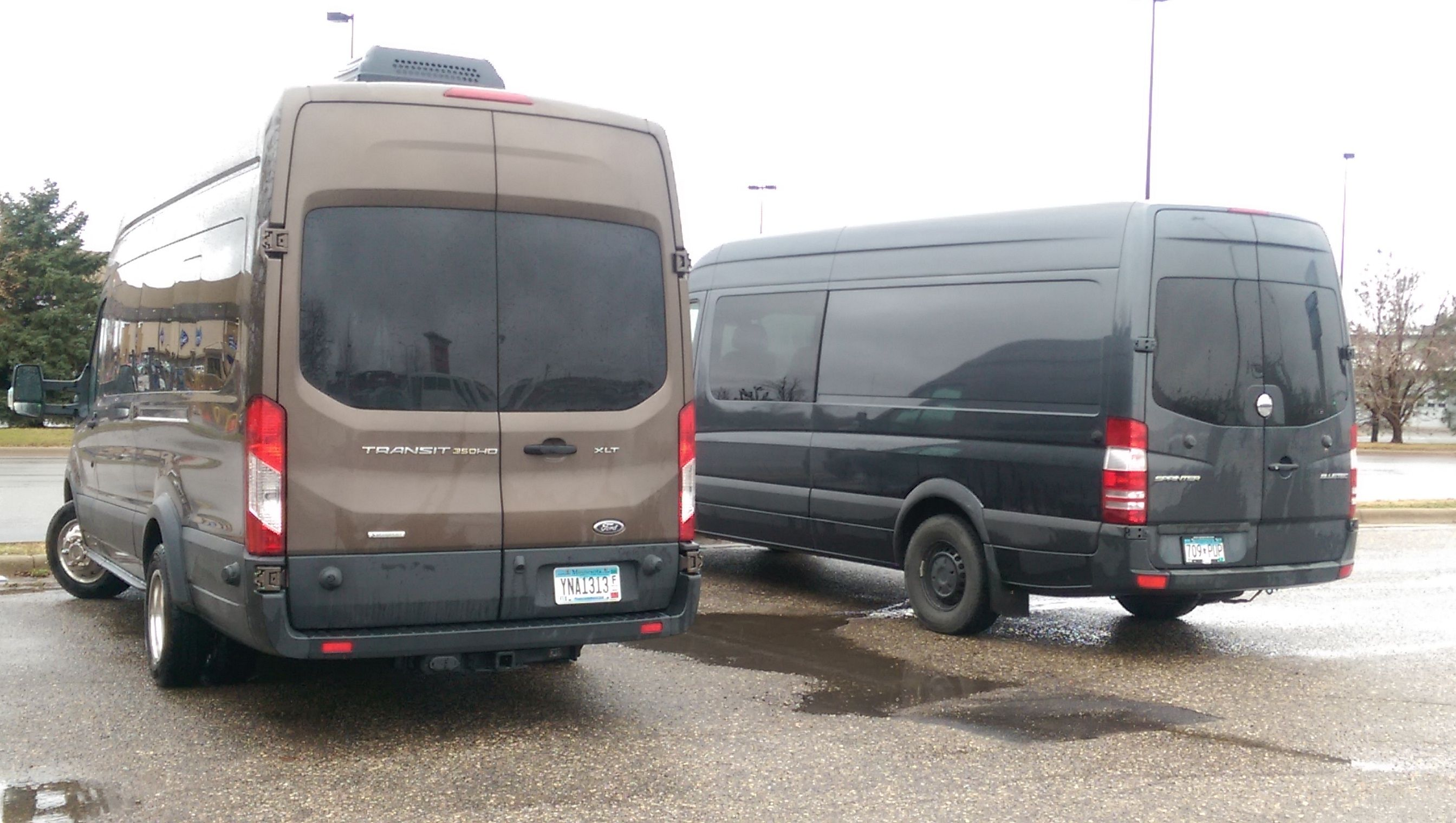 Ford Transit Vs Mercedes Sprinter Ford Transit Van Sprinter