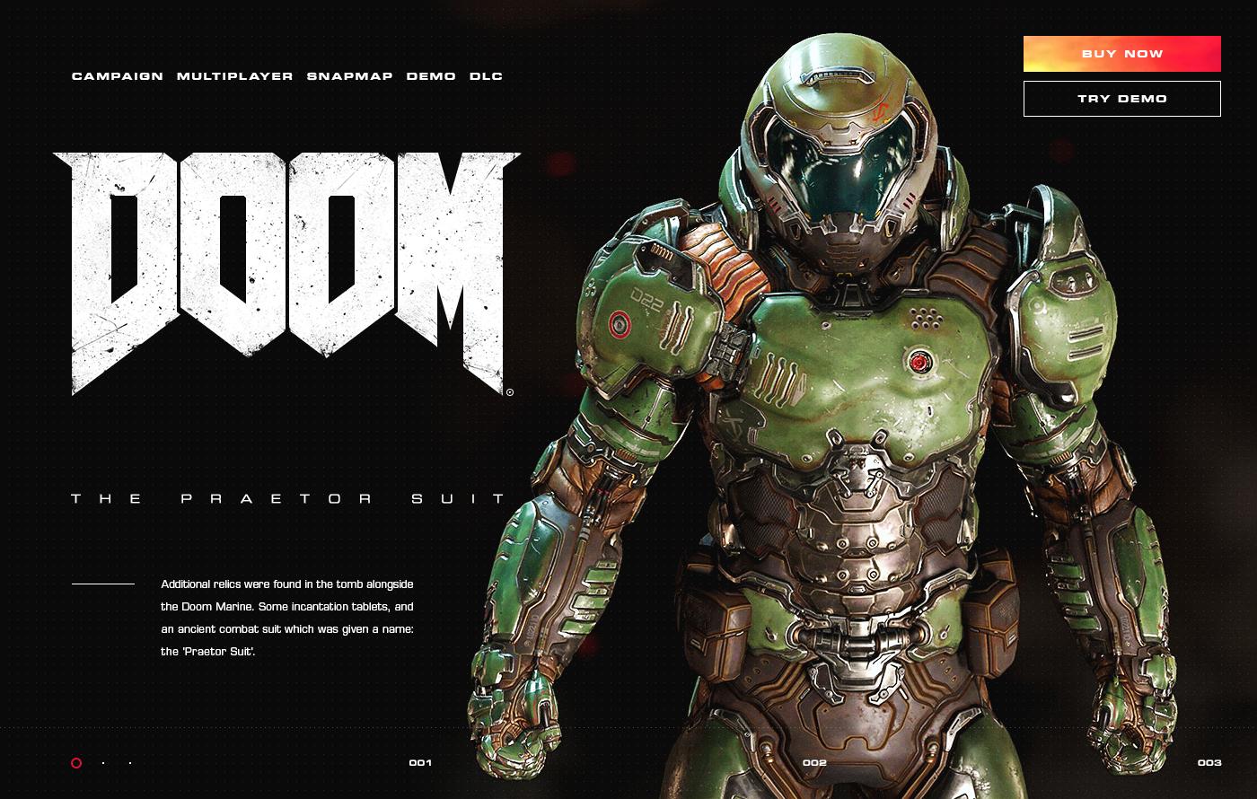 Doom On Behance Doom Creative Work