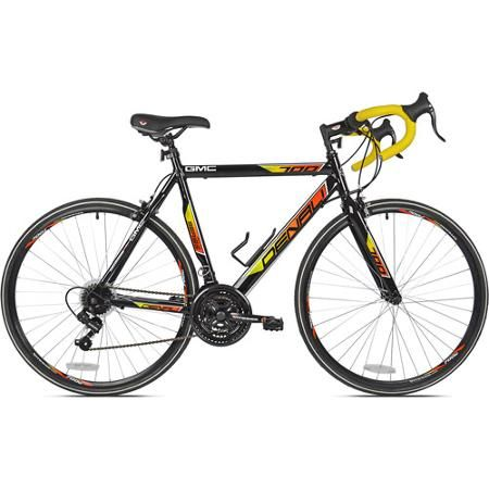 700c Men S Gmc Denali Road Bike Blue Walmart Com Bike Riding