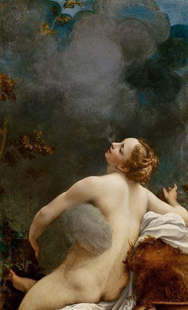 Jupiter And Io Painting