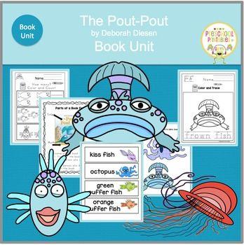 pout pout fish coloring pages - pout pout fish by deborah diesenbook unitswim along with