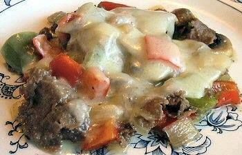 Philly Cheese Steak Melt Low Carb Menus Food Recipes Beef Recipes