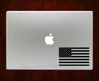 American Flag Patriotic Macbook Pro / Air 13 Decal Stickers