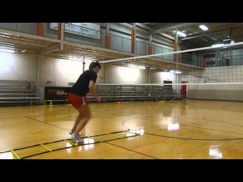 Volleyball Speed Agility Vertical Leap Training Youtube Voleybol Drilleri Voleybol Spor