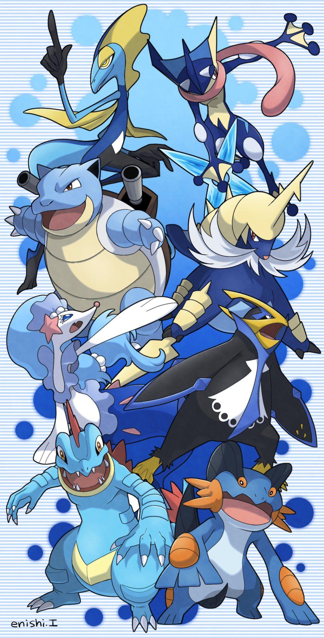 マウスピースエニシ工場長 On Twitter In 2020 Pokemon Bilder Alle Pokemon Pokemon Kunst