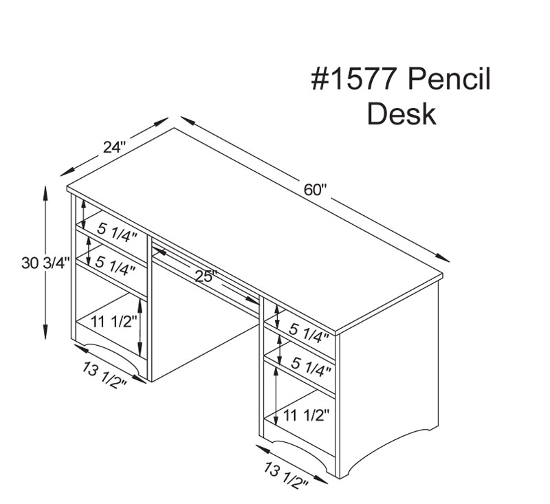 Pencil Drawer Dimensions Google Search Desk Dimensions Desk