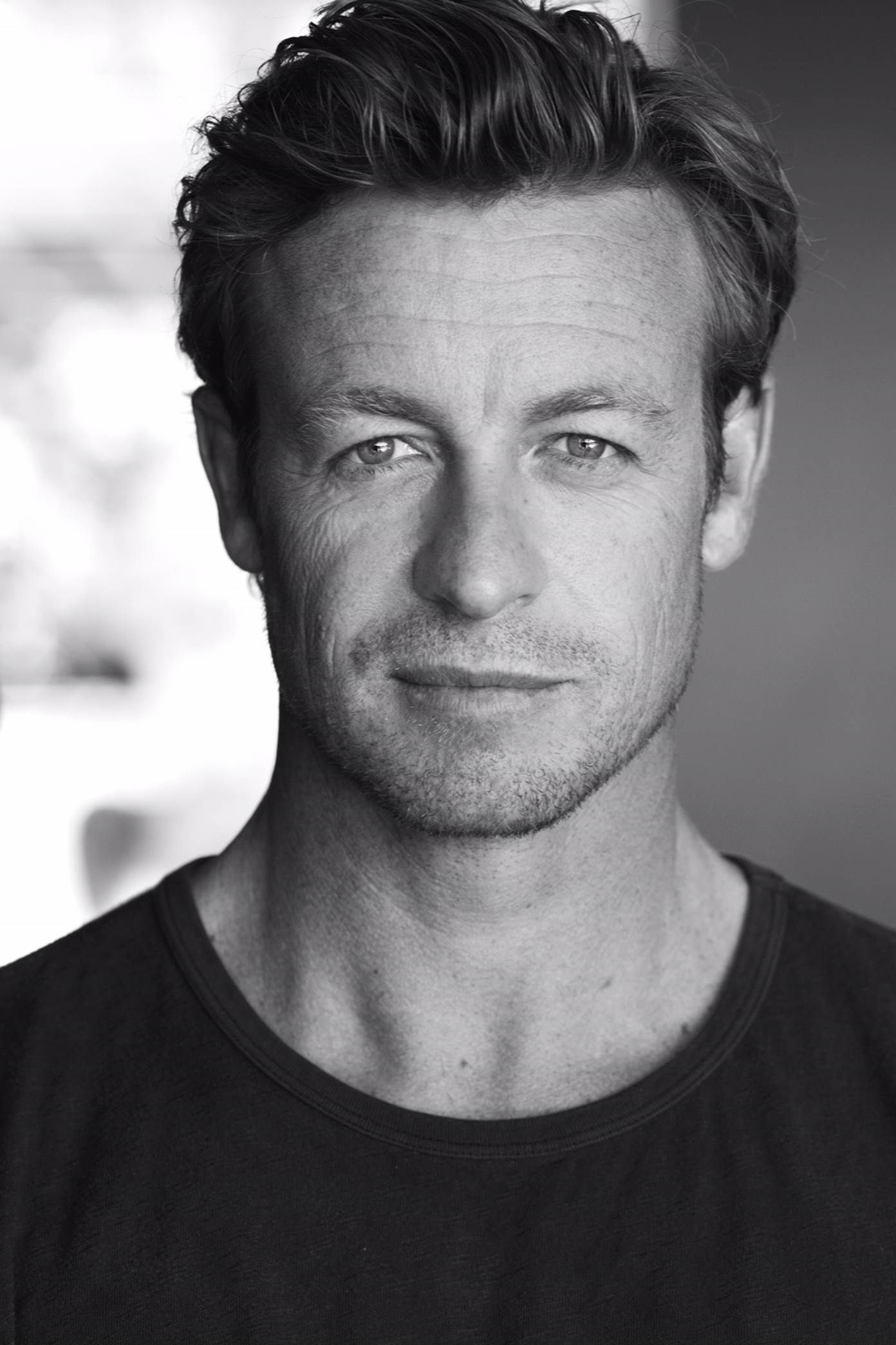 Photo Portrait Simon Baker Google Search Airbrush