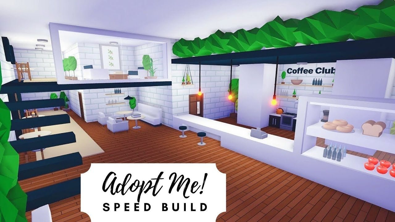 Tree House Plant Cafe Home Speed Build Roblox Adopt Me Youtube Futuristic Home Tree House Tree House Designs