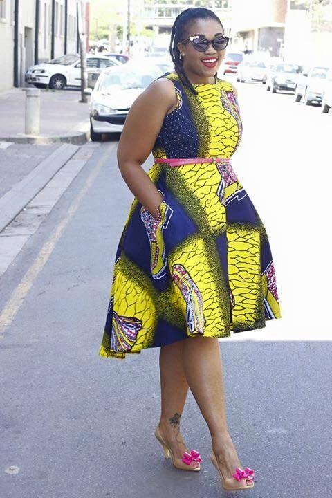 5 Places To Shop For Plus Size African Print Designs ...