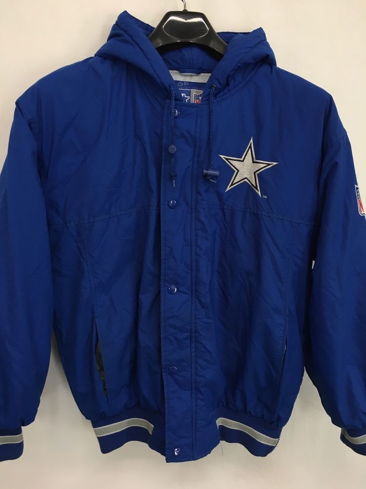 12af879ce MENS SMALL DALLAS COWBOYS STARTER NFL PUFFER JACKET VINTAGE 90 S AIKMAN  SMITH  Starter  DallasCowboys