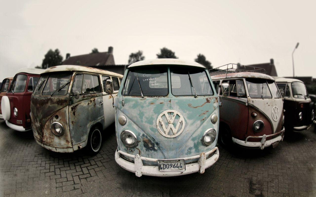 Fish eye view of a sale yard for historic #volkswagen #kombi vans in ...