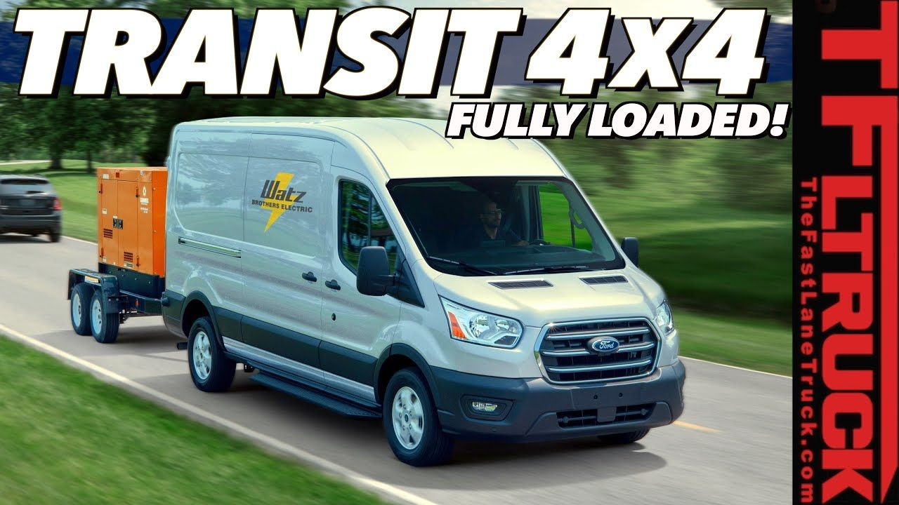 At Last You Can Buy An Awd 2020 Ford Transit Here S How Much It