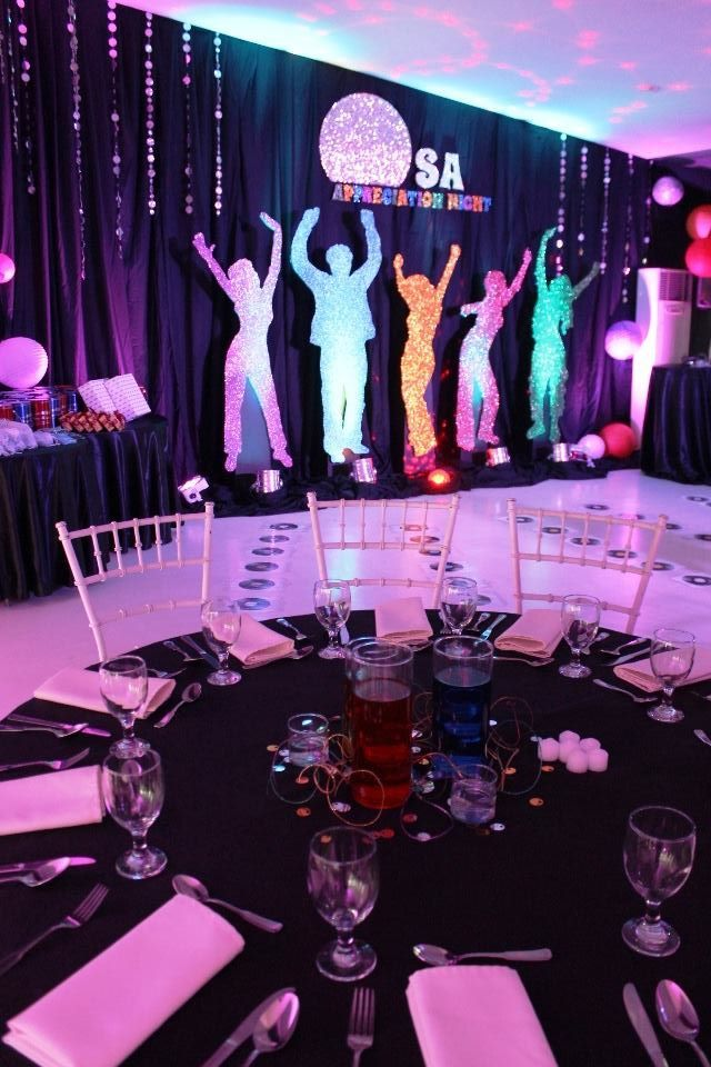 R Space Events Venue Corporate Party Theme 70s 80s 90s Party Ideas