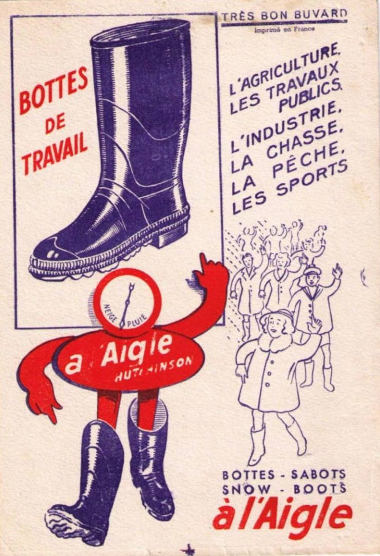A L Aigle Hutchinson Affiches Anciennes Affiche Vintage Affiches Publicitaires