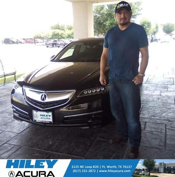 #HappyAnniversary to Roberto and your 2017 #Acura #TLX from Everyone at Hiley Acura!