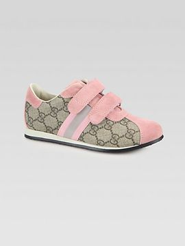 954fc020d99 Gucci Kid s Icon GG Grip-Tape Sneakers on shopstyle.com