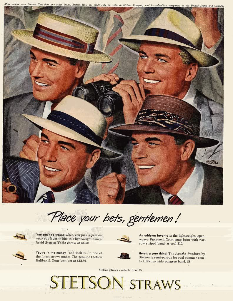 2ab1b060a1eb1 Headstart Hats  Vintage Hat Adverts