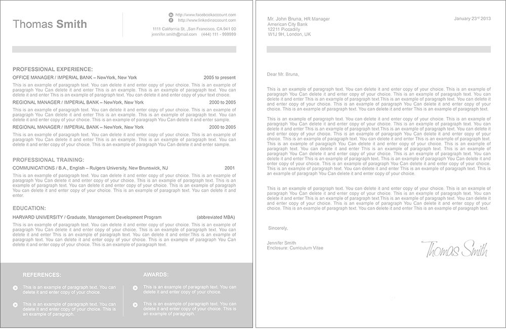 Hr Proposal Template Free Business Proposal Template Hr Business