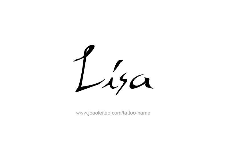 Lisa Name Tattoo Designs Name Tattoo Lisa Name Name Tattoo Designs