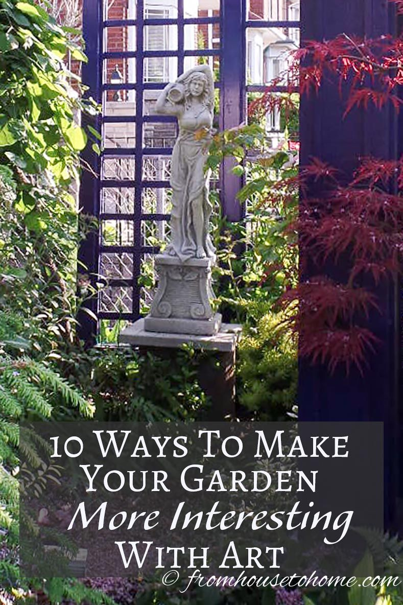 These Ideas For Adding Art To Your Garden Are The BEST! I Have Always Wanted