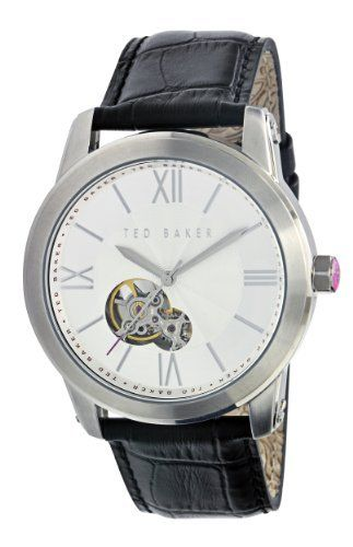 Ted Baker Men's TE1038 Sophistica-Ted Silver Dial Watch Ted Baker. $155.00. Superior quality leather strap. Water-resistant to 99 feet (30 M). Limited lifetime manufacturer warranty. High grade stainless steel construction, case. Automatic movement