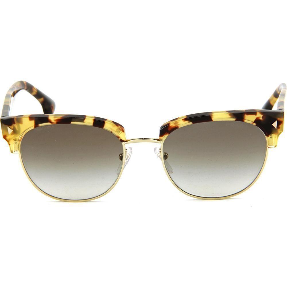 de235b21b8 New Prada Sunglasses SPR 08Q Blond tortoise and Gold 7SO-OA7 Authentic 51mm   prada  Square