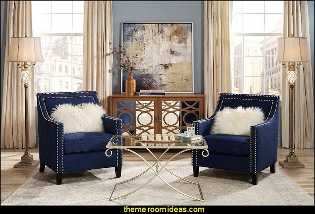 Hollywood Glam Living Rooms Old Style Decorating Ideas Luxe Furniture Glamor