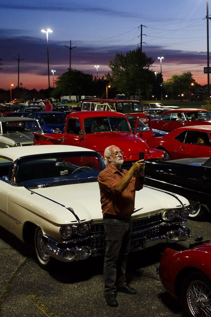 Classic car owners and enthusiasts gather for annual Back to the ...