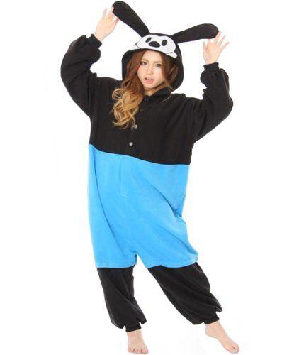 252cc4e1bbb6 Disney Oswald the Lucky Rabbit Kigurumi Adult Pyjamas / Fancy Dress Costume  Kigurumi Sazac http: