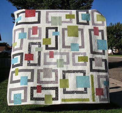 Happy Quilting: In Your Neighborhood - A New Quilt