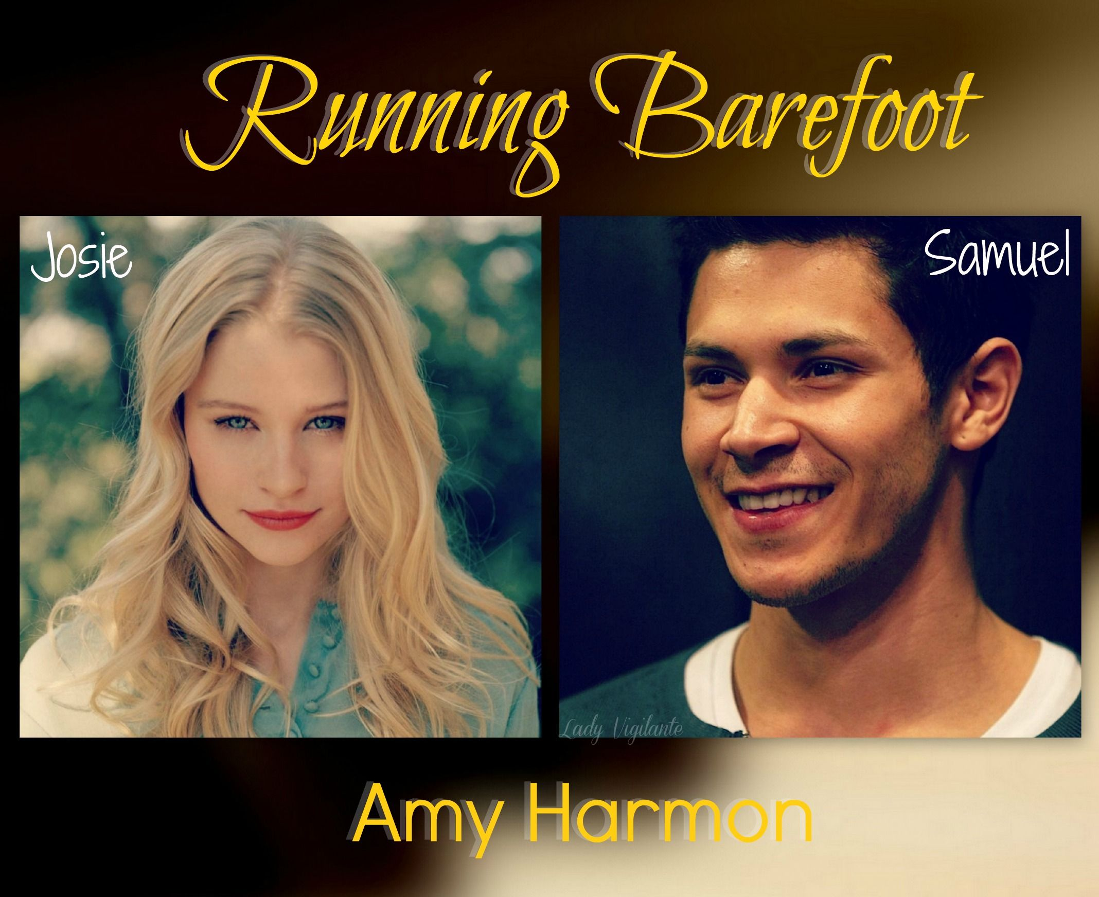 Running Barefoot Amy Harmon Casting Book Art In