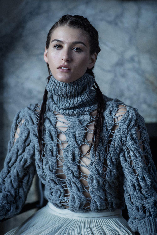 All clothing by KTZ Photographer: Jacopo Moschin Stylist: Julian Jesus Hair Stylist: Rebekah Forecast @ The Wall Group Makeup Artist: Anastasia Durasova @ The Wall Group Nail Artist: Shani...