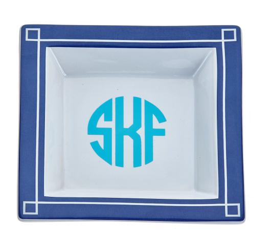 Monogrammed Small Blair Tray – Monogram Eye Candy