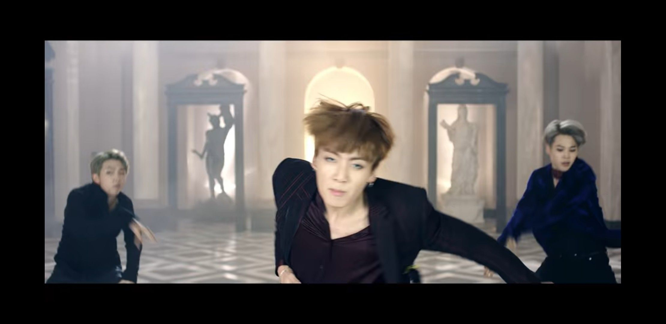 LMAO here's a funny screenshot I took from BTS Blood, Sweat, and