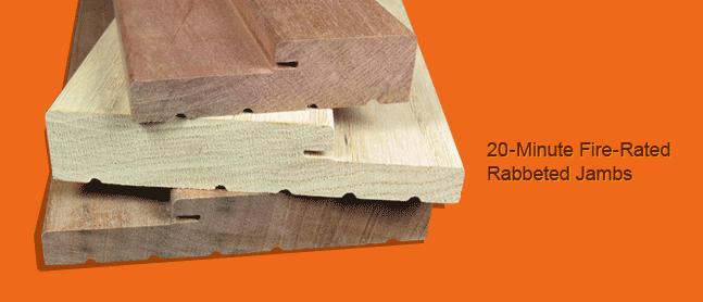 ferche 20 minute fire rated hardwood rabbit jambs fire rated frames wood doors frame wood. Black Bedroom Furniture Sets. Home Design Ideas