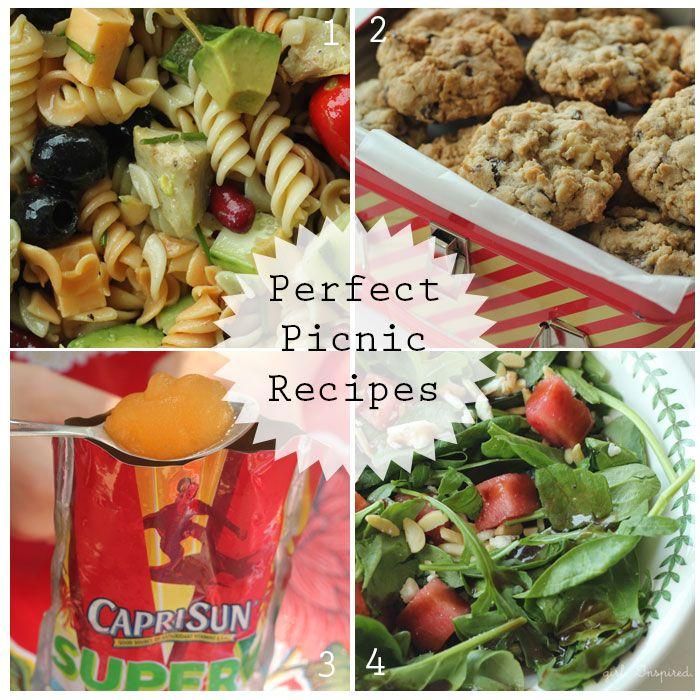 Perfect Picnic Food And Capri Sun