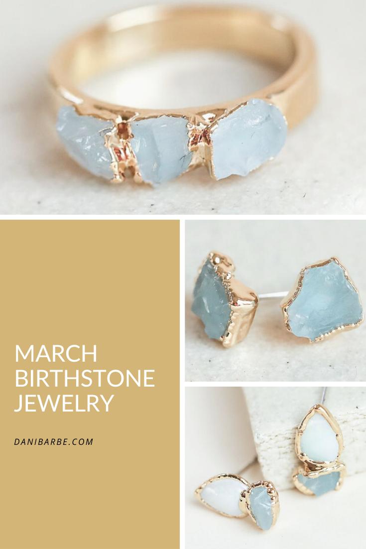 Photo of March's Birthstone: Aquamarine
