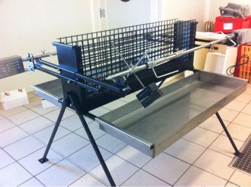 831669 512 383 grille pinterest rotissoire - Fabriquer barbecue vertical ...