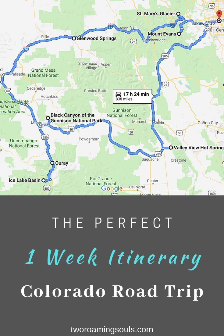 The Ultimate 1 Week Colorado Road Trip - tworoamingsouls