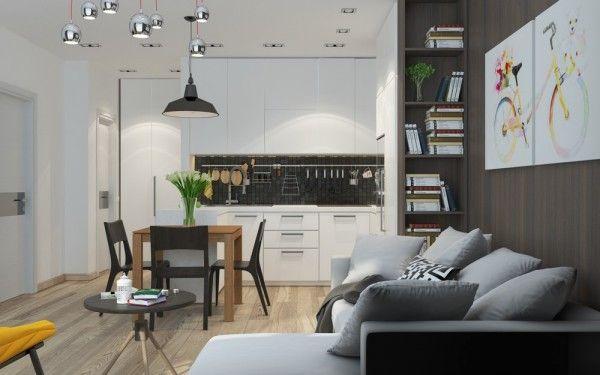 5 Apartment Designs Under 500 Square Feet Small House Interior