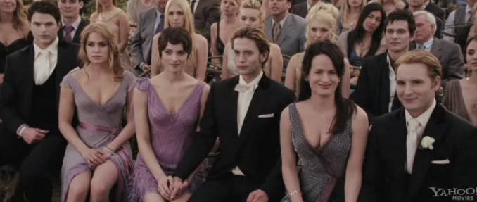Cullen Family At Bella And Edwards Wedding Breaking Dawn Part 1