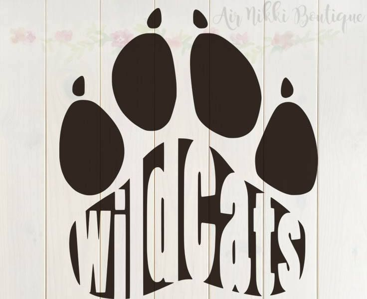 Wildcats Paw Print Svg Png Dxf Studio3 Mirrored Png Files Etsy Paw Print Wild Cats Cricut Projects Vinyl Wilcats svg cut files this listing is for downloadable digital files. wildcats paw print svg png dxf studio3