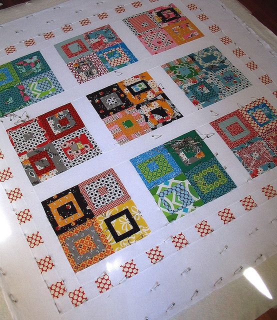 Basting By Red Pepper Quilts, Via Flickr