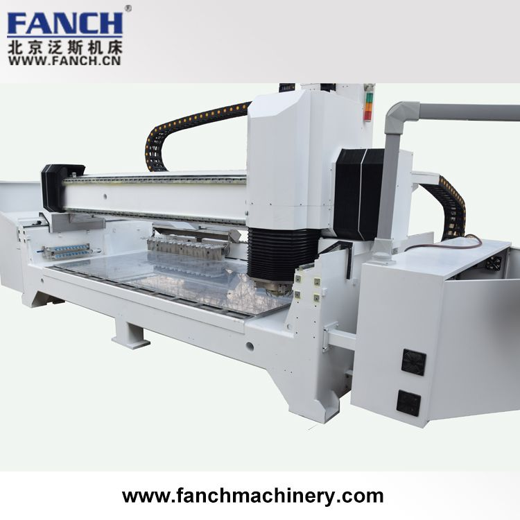 Stone Cnc Machine Center With Routing And Profiling Skd 3216atc Is Stone Countertop Fabrication Machine Cnc Machine Stone Countertops Architectural Decoration