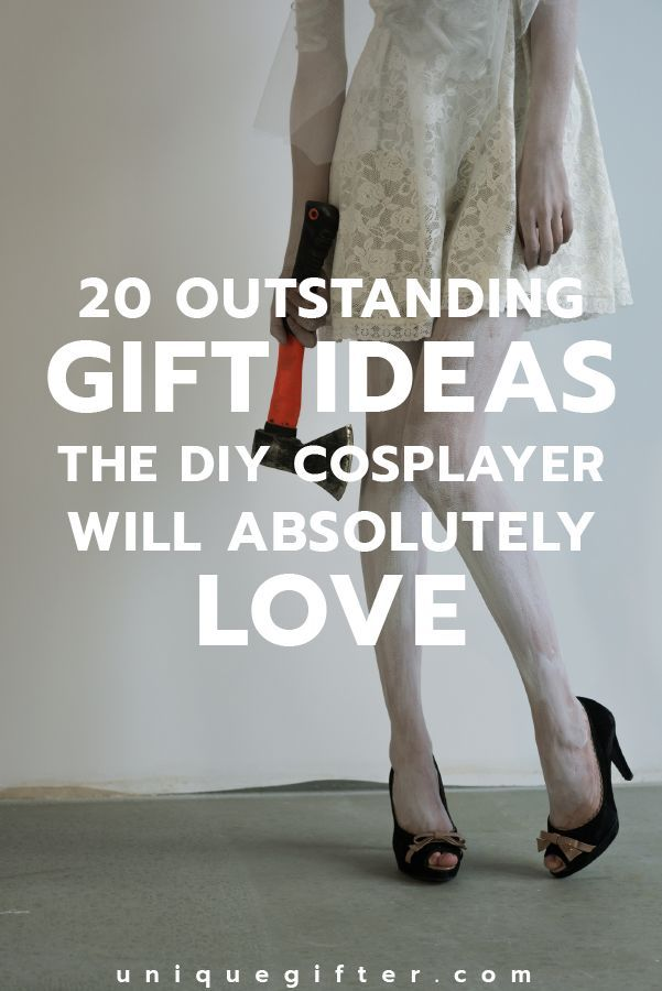 Gift Ideas For DIY Cosplay