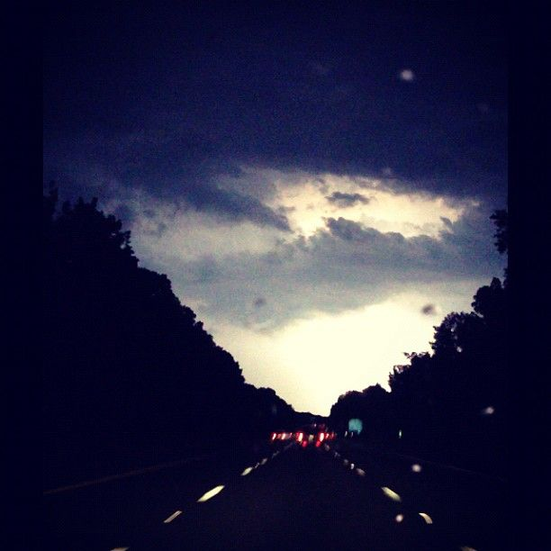 """@kungfubee's photo: """"Last #nights #storm lit up the #skies. #lighting storm are a #beautiful sight to see but freaking scary ⚡☁☔"""""""