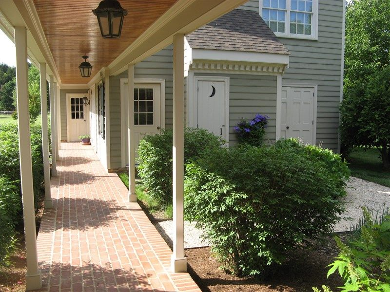 covered walkway detached garage google search outdoor