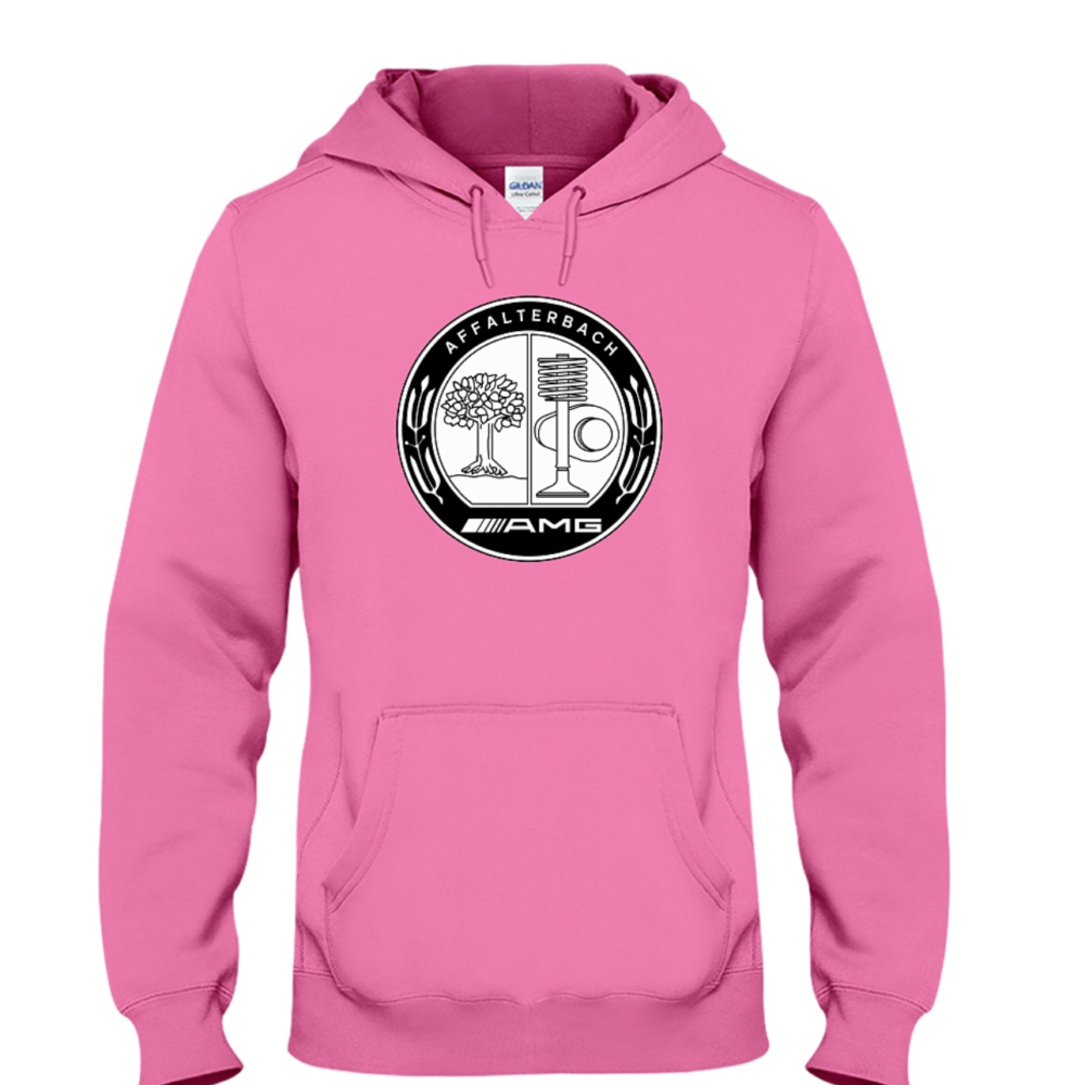 5cbdef3018e7 Mercedes-Benz AMG Affalterbach Pink Lady Women Hoodie