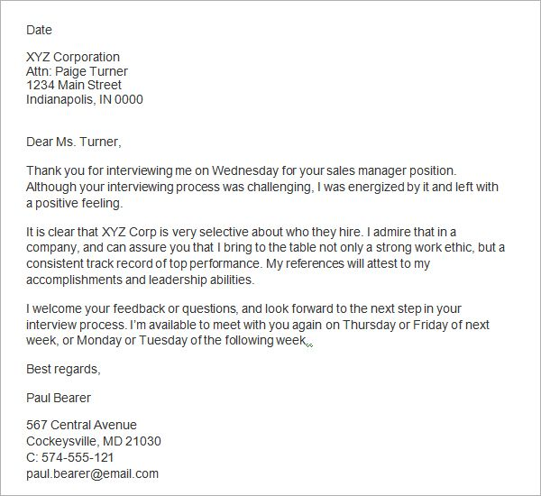 10 thank you letter after job interview sample templates Jas - thank you for the job offer